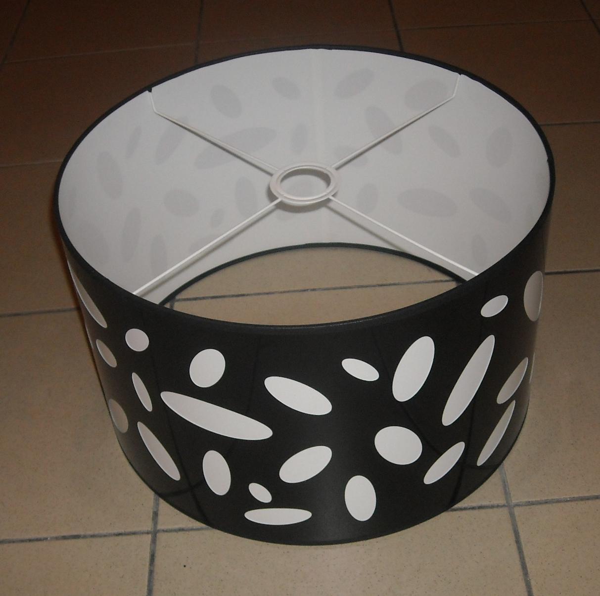 lampenschirm stoff stoffschirm zylinder a245x2 ca. Black Bedroom Furniture Sets. Home Design Ideas