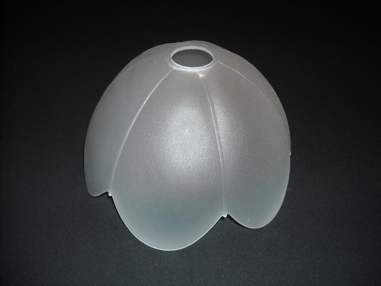 lampenschirm aus glas glasschirm wei k0241w1 ca 25. Black Bedroom Furniture Sets. Home Design Ideas