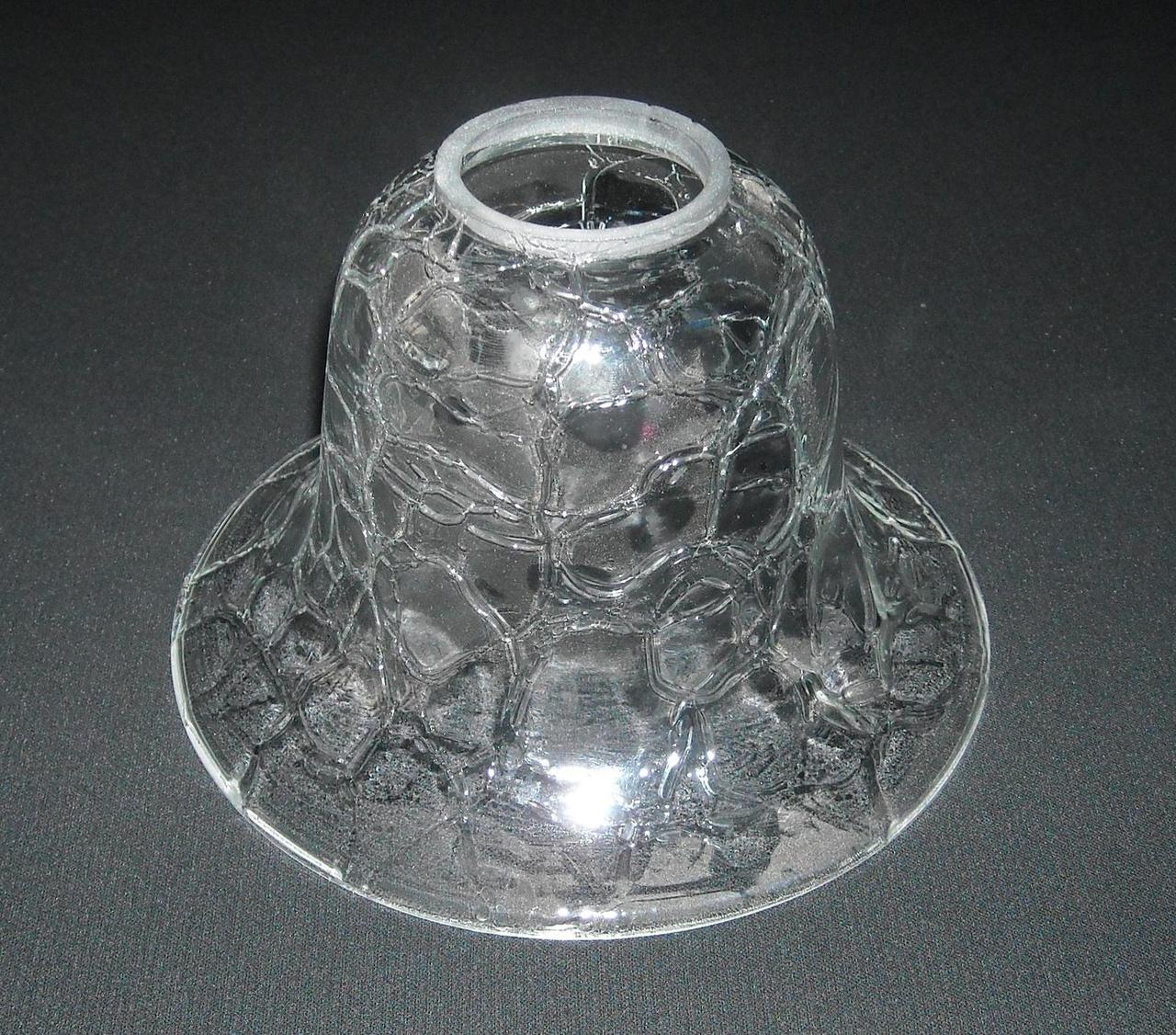 lampenschirm aus glas glasschirm k0512x6 ca 16 5 cm. Black Bedroom Furniture Sets. Home Design Ideas
