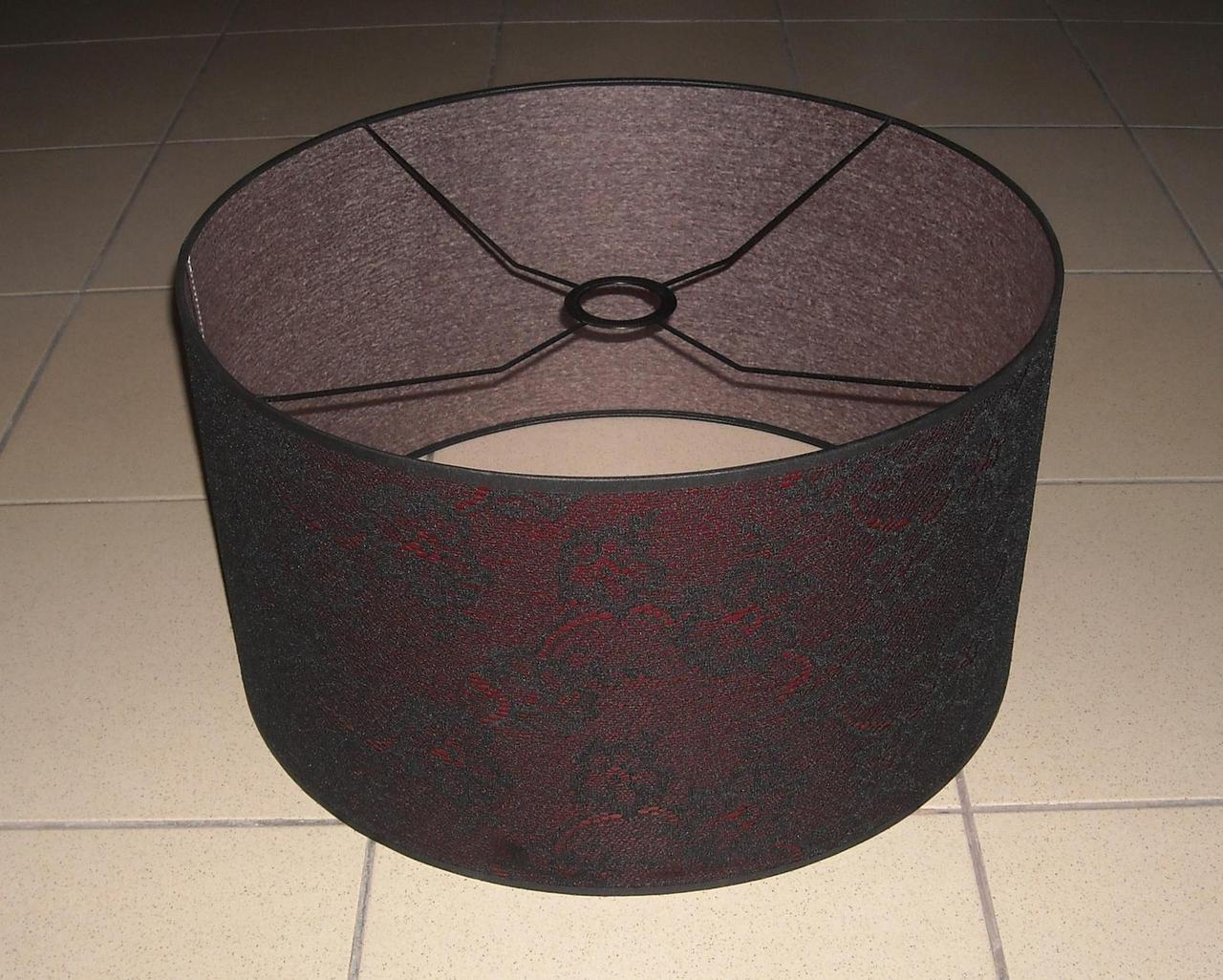 lampenschirm stoff textil ersatz stoffschirm zylinder. Black Bedroom Furniture Sets. Home Design Ideas