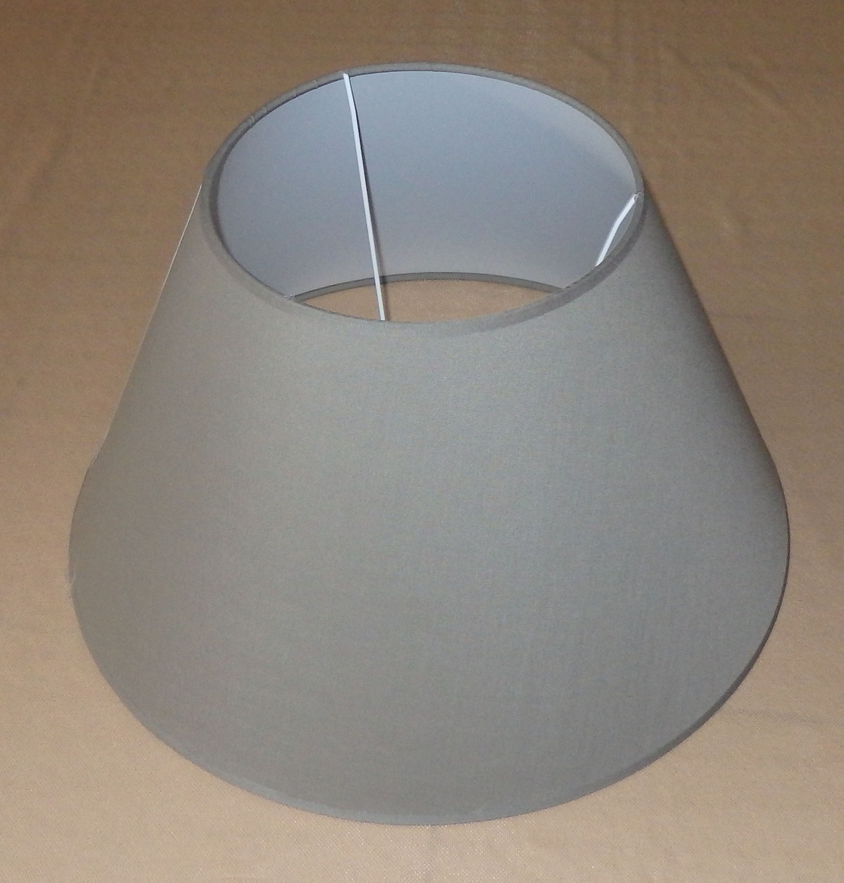 lampenschirm stoff textil stoffschirm a324w1 ca 40 cm. Black Bedroom Furniture Sets. Home Design Ideas
