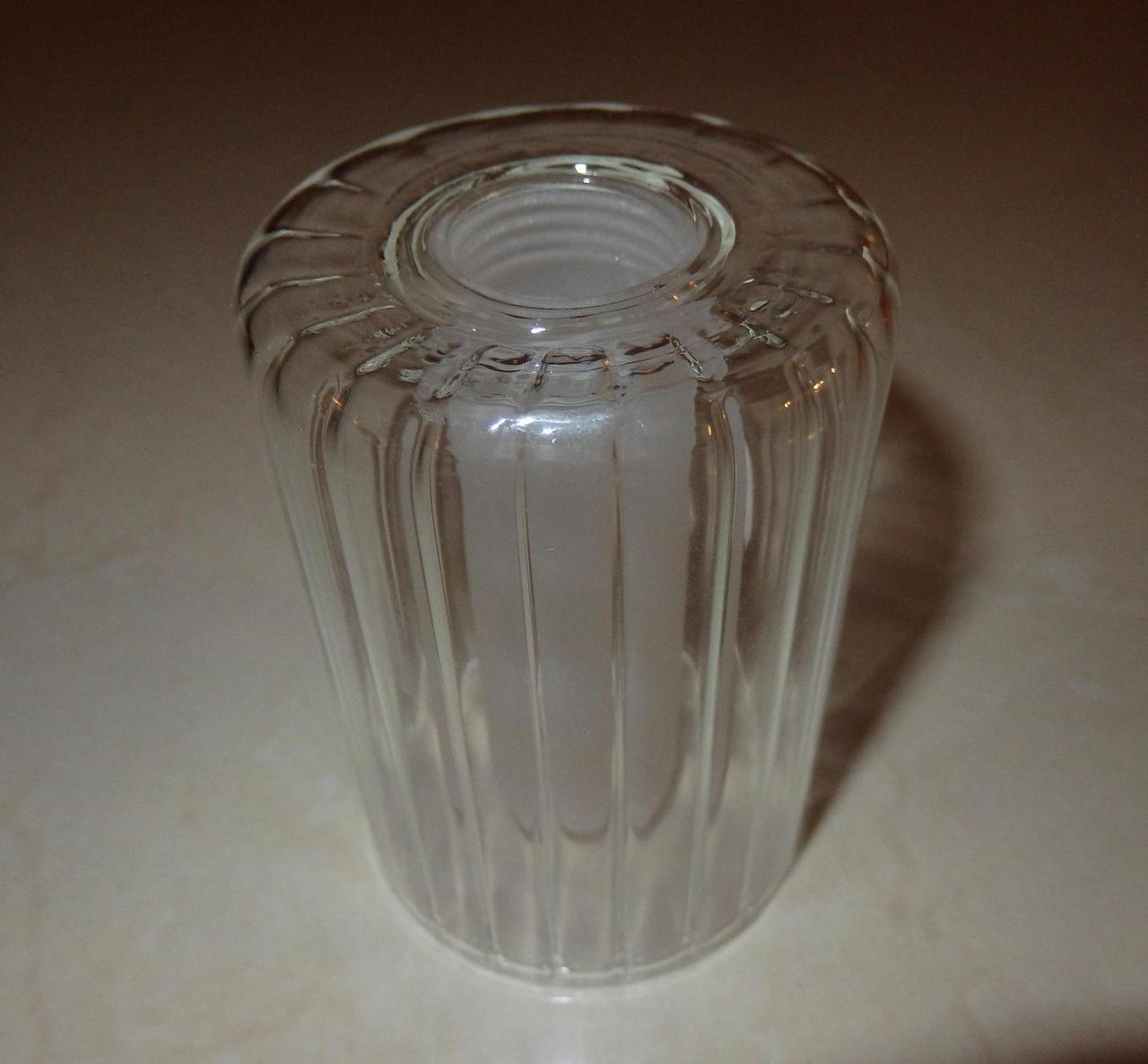 lampenschirm f r halogene aus glas ersatzglas k0099w h he 8 5 cm mit gewinde ebay. Black Bedroom Furniture Sets. Home Design Ideas
